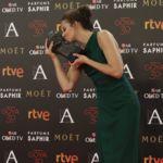 Irene Escolar, Goya a la Actriz Revelación 2016, fantástica con un Sybilla verde