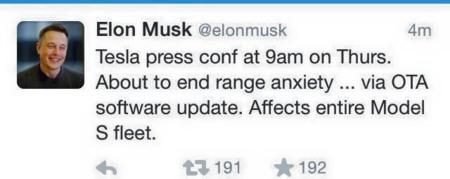 Elon Musk Tuit Autonomia