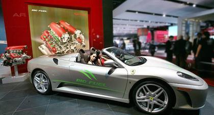 Ferrari 430 Spider Biofuel
