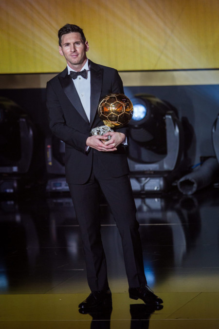 Quinto Balon De Oro A Messi