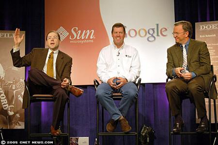 Sun Microsystems Google