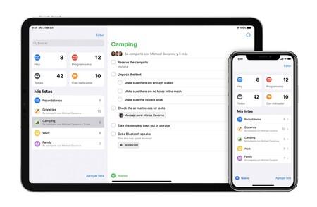 Cómo dejar de compartir listas de Recordatorios en nuestro iPhone, iPad o Mac