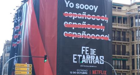 La Audiencia Nacional investiga la publicidad de Netflix tras la denuncia recibida por 'Fe de Etarras'