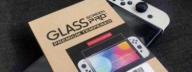 Nintendo Switch OLED: por solo 199 pesos en Amazon México puedes comprar un par de micas de cristal templado y proteger su pantalla