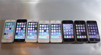 Comparando la velocidad de todos los iPhone de la historia