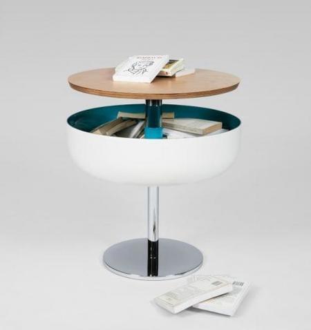 Mesa con espacio de almacenamiento adicional de Marc Venot