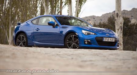 Subaru BRZ, presentación y prueba en Madrid