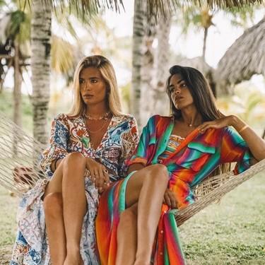 Los 11 kaftanes y kimonos de estilo boho que podrían hacerte el look de playa este verano 2019