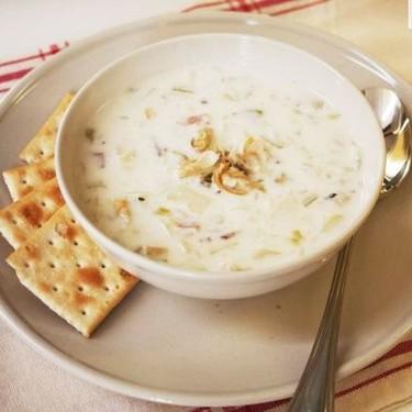 Sopa de almejas de Nueva Inglaterra, receta con Thermomix
