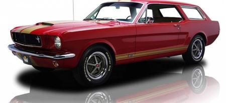 Ford Mustang Station Wagon Historia 1