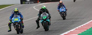 Suzuki presentó su candidatura al mundial de los neumáticos y cocina a fuego lento su reconquista de MotoGP