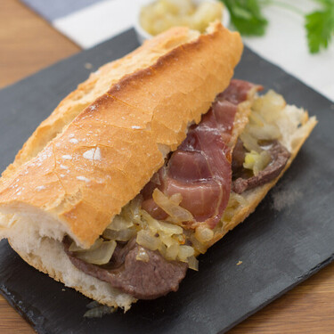 Bocadillo de brascada, receta de un clásico valenciano