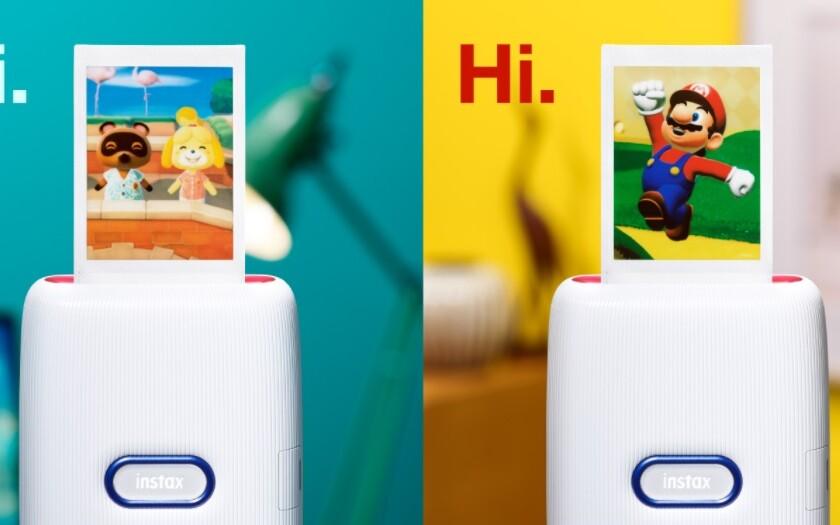 Nintendo y Fujifilm lanzarán la aplicación para móviles Instax Mini Link for Nintendo Switch para imprimir tus imágenes favoritas