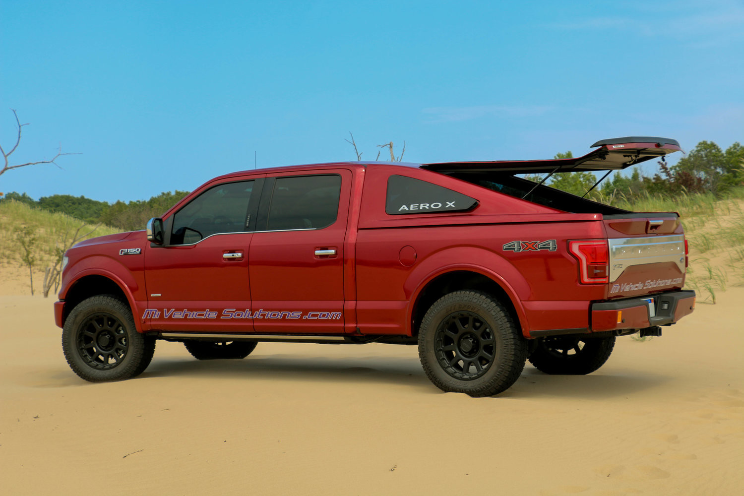 Ford F-150 Aeorx Fastback por Michigan Vehicle Solutions