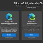 Edge se actualiza en los canales Beta y Dev: al primero llegan las pestañas verticales y el segundo estrena la versión 91