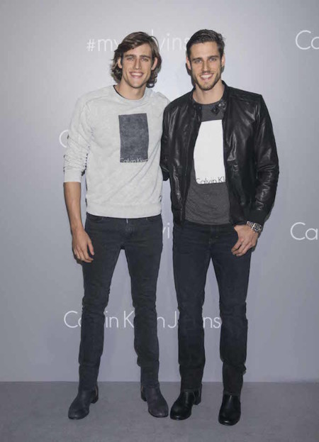Calvin Klein Jeans Hong Kong Event Stenmark Zac Jordan 061115 Ph Getty Images