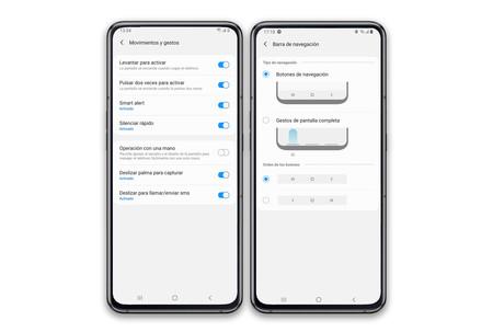 Samsung Galaxy A80 Gestos
