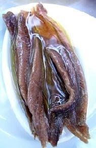 Raspas de anchoa fritas
