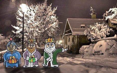 Carta para los Reyes Magos exclusiva de Bebés y más (Navidad'12)