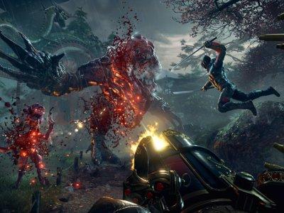 Sablazos y tiroteos en el nuevo y frenético gameplay de 12 minutos de Shadow Warrior 2