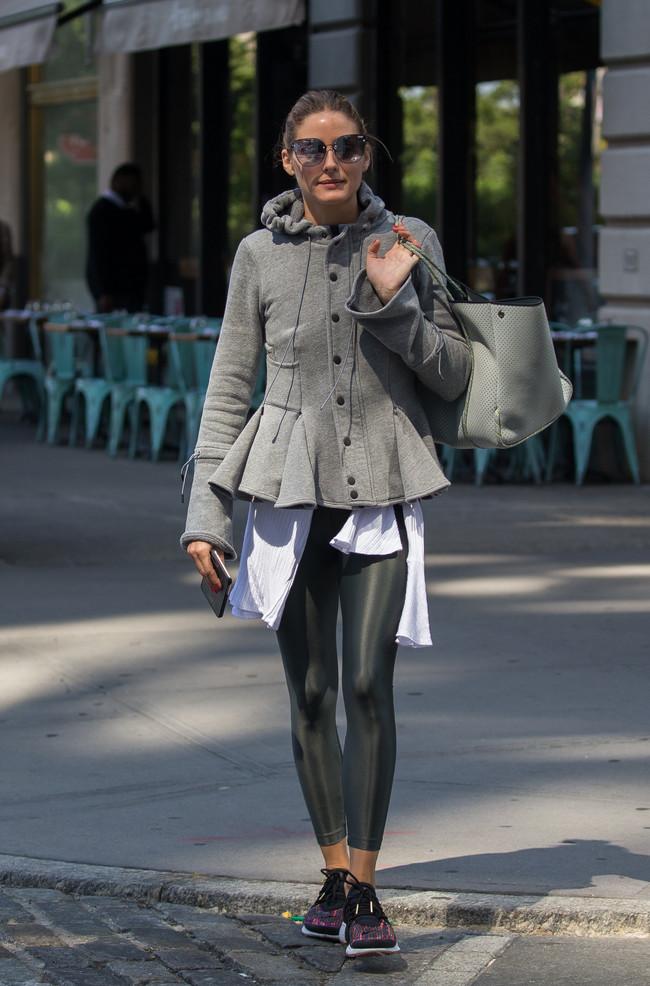 olivia palermo look estilismo outfit street style sporty otoño