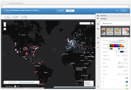 La española CartoDB sigue su lucha por ser líder mundial del mercado de los datos geolocalizados