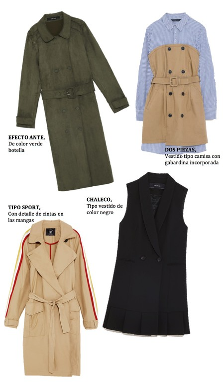 Trench Zara Tendencia