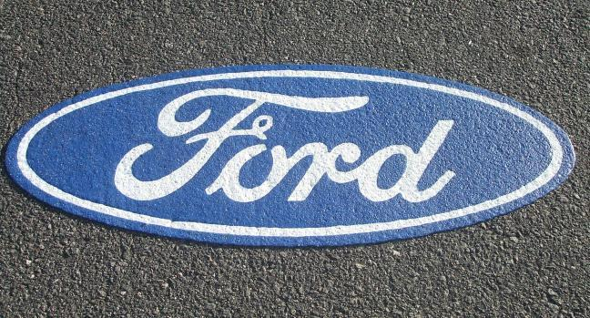 Ford Logo Carretera