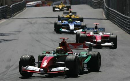 Webber Monaco F1 2004