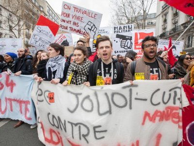 ¿Son los sindicatos franceses más beligerantes que los españoles, como dice el meme?