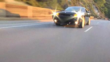 Jay Leno ya tiene en casa su Dodge Challenger SRT8