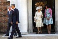 Duelo de tres damas. Michelle Obama se reúne con Kate Middleton (ideal) y Camilla Parker