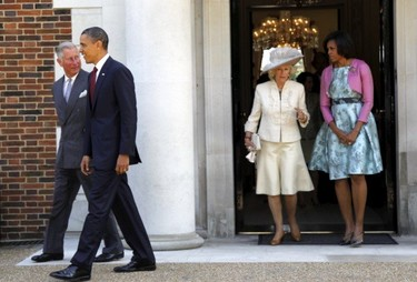 Duelo de tres damas. Michelle Obama se reúne con Kate Middleton (ideal) y Camilla Parker