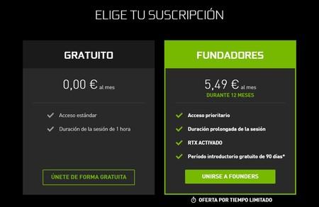 Suscripcion Nvidia Geforce Now
