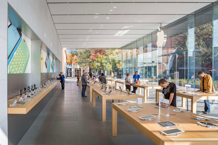 Apple Store Stanford By Bohlin Cywinski Jackson Stainless Steel