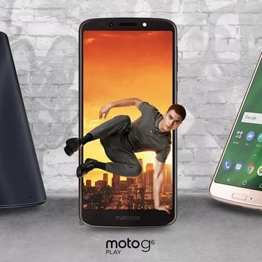 Motorola Moto G6, G6 Plus y G6 Play: la gama media más emblemática se renueva con pantallas 18:9 y modo retrato