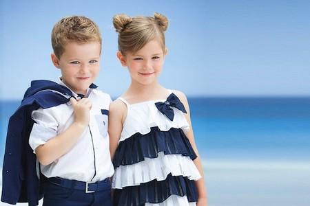 Moda Verano 2014 para bebés y niños: estilo marinero para el verano