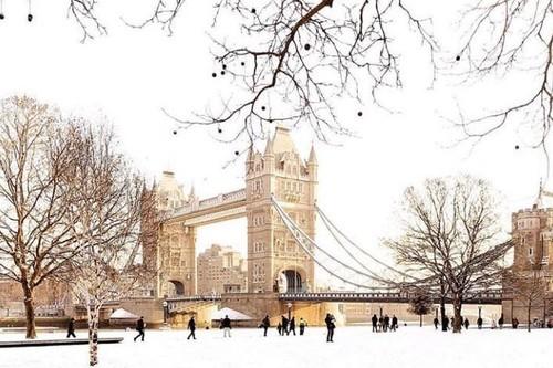 Nueve lugares que no solemos ver cubiertos de nieve que hemos descubierto en Instagram