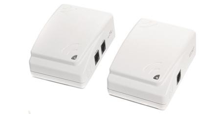 PLC también para las tomas de teléfono