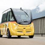 Suiza ya prueba autobuses urbanos autónomos y eléctricos en la ciudad de Sion