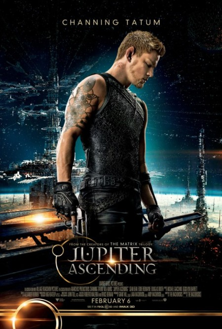 'El destino de Júpiter', últimos carteles de los protagonistas