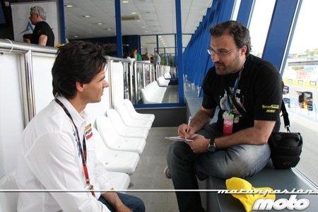 MotoGP España 2011: una conversación con Álex Crivillé