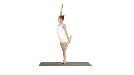 Natarajasana Postura Del Senor De La Danza