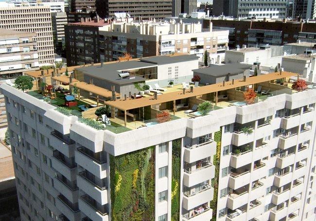 El lujo de vivir en un tico duplex en la mejor zona de madrid - Duplex en madrid ...