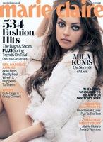 Mila Kunis es todo ojos en la portada de Marie Claire