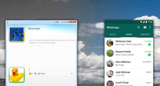 Nueve funciones que tenía MSN Messenger y no tiene WhatsApp