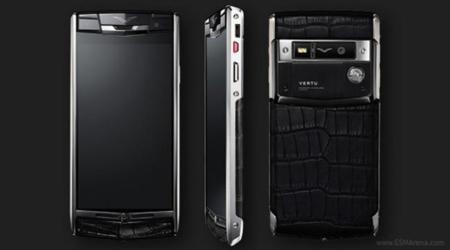 El nuevo Vertu Signature Touch de lujo llega con titanio, zafiro y piel por nada menos que 8.000 euros