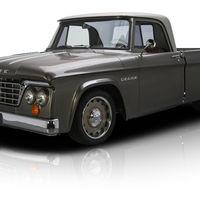 Si te gustan las camionetas americanas y los 'restomod', esta Dodge D100 te va a encantar