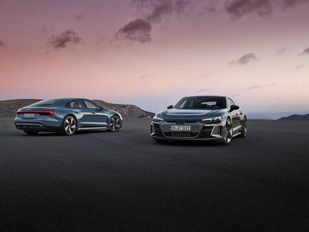 El Audi e-tron GT, a la venta en España: la berlina eléctrica prima del Porsche Taycan ya tiene precio