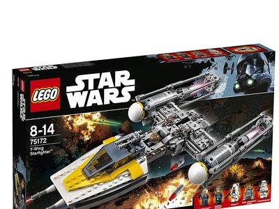 Y-Wing Starfighter, de Lego StarWars, a su precio mínimo en Amazon: 49,26 euros y envío gratis